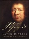 Pepys's Later Diaries (eBook)
