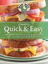Country Quick & Easy Cookbook (eBook): Fast family favorites & nothing-to-it meals that are simple, satisfying & delicious!