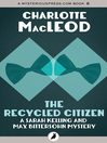 The Recycled Citizen (eBook)