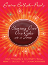 Starting Over, One Cake at a Time (eBook)