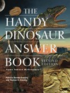 The Handy Dinosaur Answer Book (eBook)