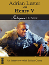Adrian Lester on Henry V (eBook)