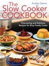 The Slow Cooker Cookbook (eBook): Time-Saving Delicious Recipes for Busy Family Cooks