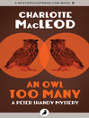An Owl Too Many (eBook)
