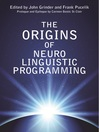 The Origins of Neuro-Linguistic Programming (eBook)