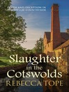 Slaughter in the Cotswolds (eBook): Thea Osborne Series, Book 6