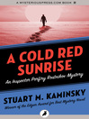 A Cold Red Sunrise (eBook): Inspector Porfiry Rostnikov Series, Book 4