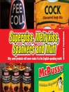 Superpiss, Meltykiss, Spankers and Muff (eBook)