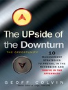 The Upside of the Downturn (eBook): The Opportunity
