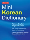 Tuttle Mini Korean Dictionary (eBook): Korean-English English-Korean