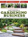 Start and Run a Gardening Business (eBook)