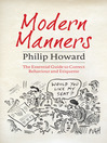 Modern Manners (eBook): The Essential Guide to Correct Behaviour and Etiquette