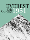 Everest 1951 (eBook): The Mount Everest Reconnaissance Expedition 1951