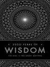 2500 Years of Wisdom (eBook): Sayings of the Great Masters