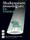 Shakespeare Monologues for Women (eBook)