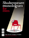 Shakespeare Monologues for Men (eBook)