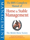 The BHS Complete Manual of Horse and Stable Management (eBook)