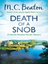 Death of a Snob (eBook): Hamish Macbeth Mystery Series, Book 6