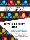 Love's Labor's Lost (eBook)