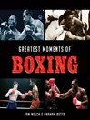 Greatest Moments of Boxing (eBook)