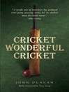 Cricket, Wonderful Cricket (eBook)