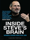 Inside Steve's Brain (eBook): Business Lessons From Steve Jobs, the Man Who Saved Apple