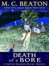 Death of a Bore (eBook): Hamish Macbeth Mystery Series, Book 21