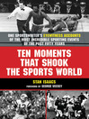 Ten Moments that Shook the Sports World (eBook)