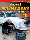 Ford Mustang Performance Projects (eBook): 1964 1/2 - 1973