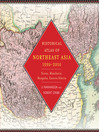 Historical Atlas of Northeast Asia, 1590-2010 (eBook): Korea, Manchuria, Mongolia, Eastern Siberia