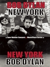 Bob Dylan (eBook): New York