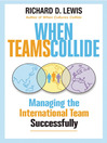 When Teams Collide (eBook): Managing the International Team Successfully
