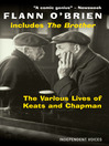 The Various Lives of Keats and Chapman (eBook)