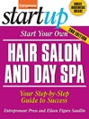 Start Your Own Hair Salon and Day Spa (eBook)