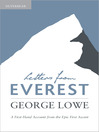 Letters from Everest (eBook): A First-Hand Account from the Epic First Ascent