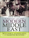 A History of the Modern Middle East (eBook)