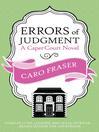 Errors of Judgment (eBook): Caper Court Series, Book 8