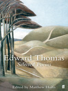 Selected Poems of Edward Thomas (eBook)