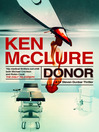 Donor (eBook): Steven Dunbar Series, Book 1