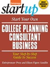 Start Your Own College Planning Consultant Business (eBook)