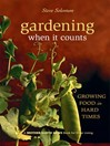 Gardening When It Counts (eBook): Growing Food in Hard Times