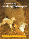 Manual of Lambing Techniques (eBook)