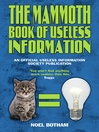 The Mammoth Book of Useless Information (eBook)