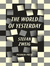 The World of Yesterday (eBook)
