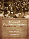 Eminent Parliamentarians (eBook): The Speaker's Lectures