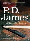 A Taste for Death (eBook): Inspector Adam Dalgliesh Series, Book 7
