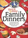 Quick & Easy Family Dinners Cookbook (eBook)