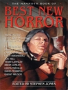 The Mammoth Book of Best New Horror 17 (eBook)