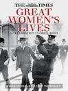 The Times Great Women's Lives (eBook): A Celebration in Obituaries