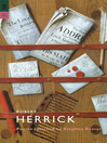 Robert Herrick (eBook): Poems Selected by Stephen Romer